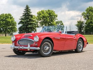 1963 Austin-Healey 3000 Mk II BJ7  For Sale by Auction
