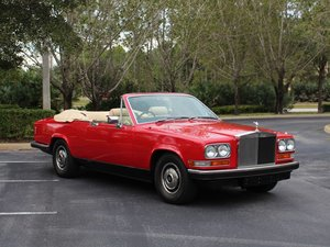 1978 Rolls-Royce Camargue Drophead Conversion
