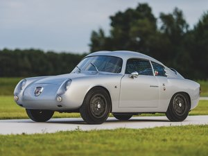1960 Fiat-Abarth 750 GT Double Bubble Zagato For Sale by Auction