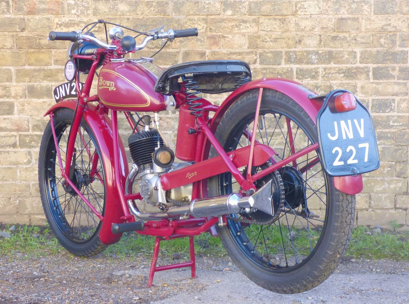1953 Bown Standard 98cc For Sale (picture 5 of 6)