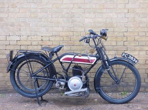 Picture of 1918 c1922 Bown Villiers 343cc For Sale