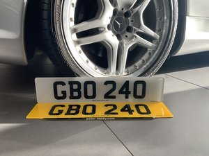 Private Plate - GBO 240