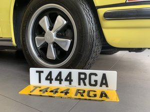 Picture of 2020 The Perfect Plate for the discerning Porsche Targa owner