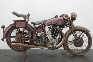Franzani FJ59 1928 500cc 1 cyl ohv JAP
