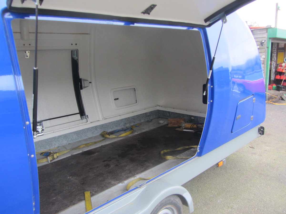 2015 TRACSPORTER COVERED CAR TRAILER For Sale (picture 2 of 6)