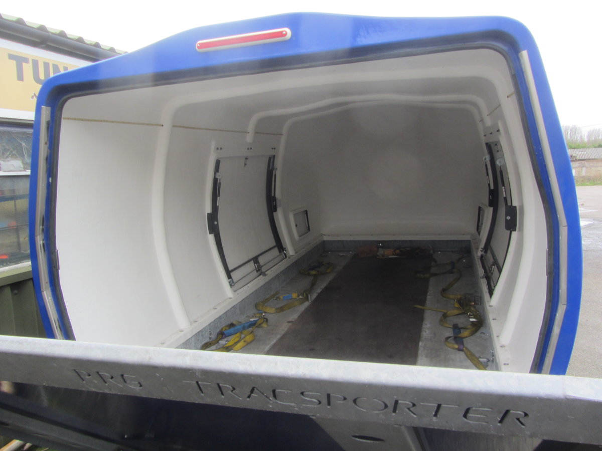 2015 TRACSPORTER COVERED CAR TRAILER For Sale (picture 4 of 6)