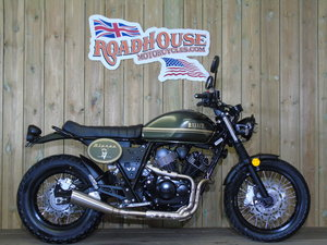 Picture of 2020 Bullit Motorcycles Bluroc 250cc V-Twin Brand New For Sale