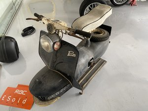 VERY VERY VERY RARE PIATTI SCOOTER,ONLY 30 MILES FROM NEW