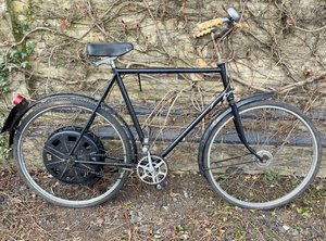 1951 Cyclemaster 25cc fitted to gentlemans Rudge bicycle For Sale