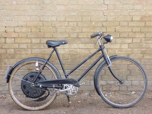 1951 Cyclemaster 32cc fitted to ladies pushbike