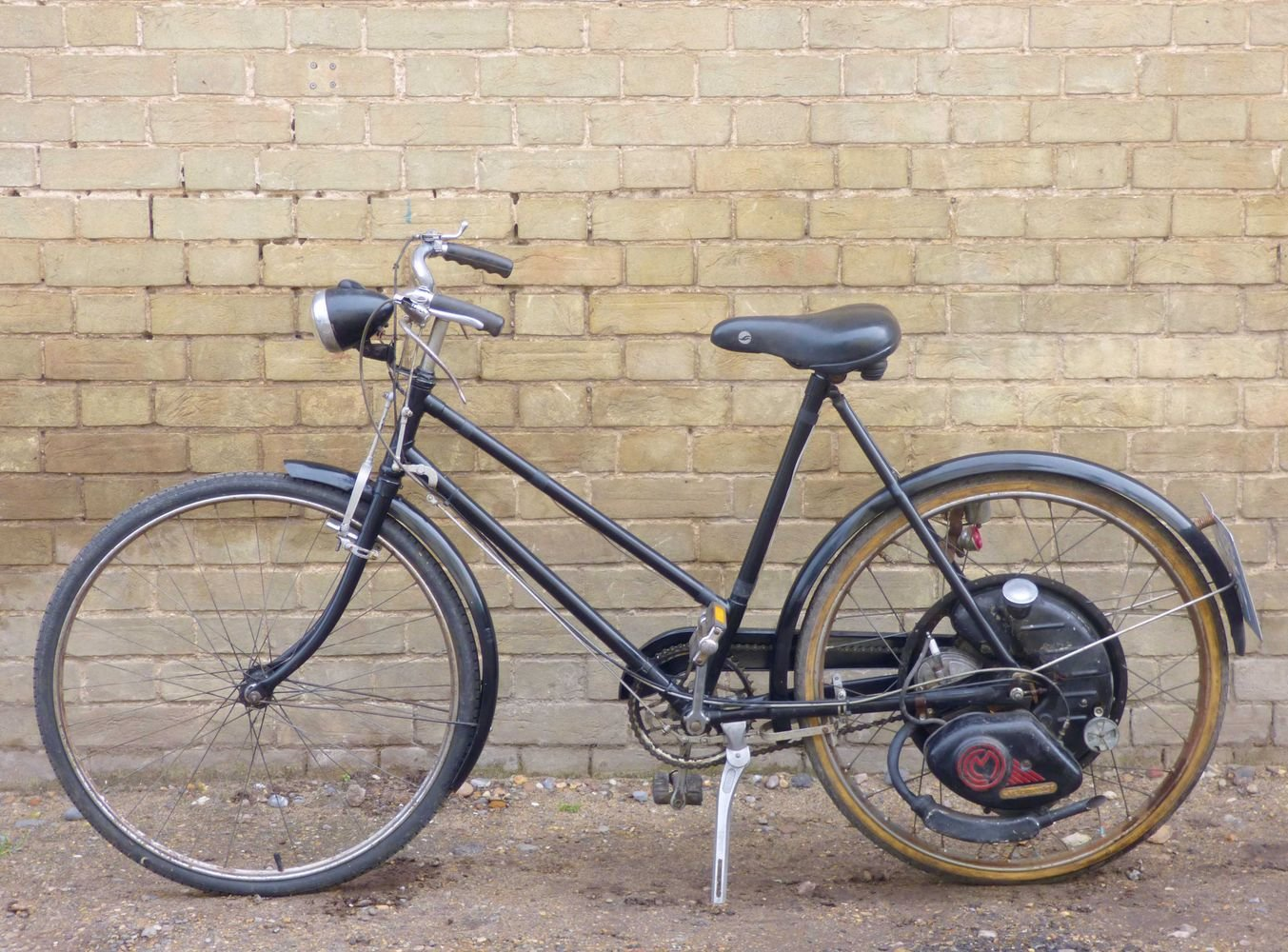 1951 Cyclemaster 32cc fitted to ladies pushbike SOLD (picture 2 of 6)