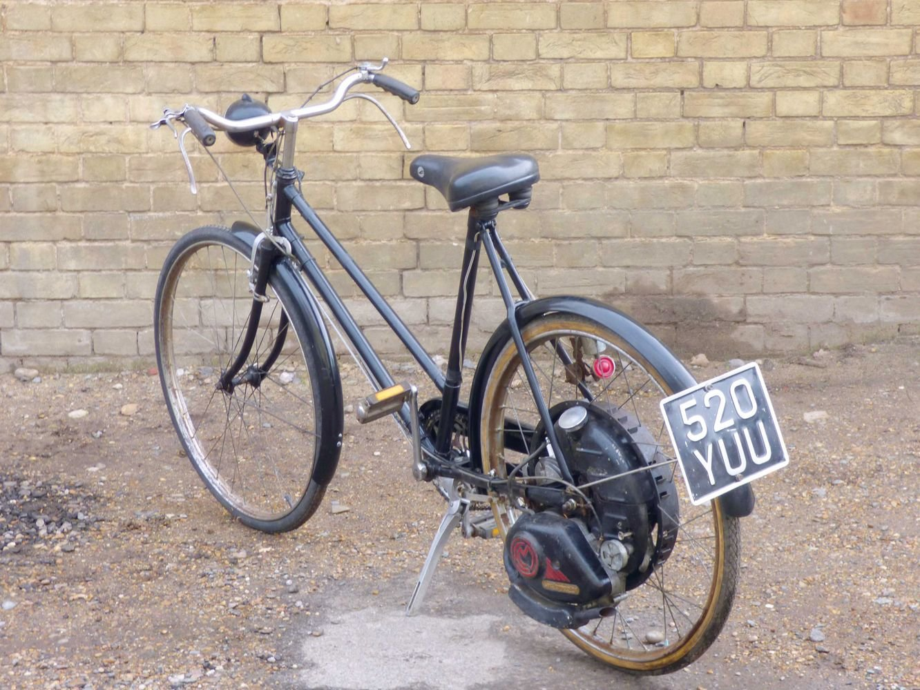 1951 Cyclemaster 32cc fitted to ladies pushbike SOLD (picture 5 of 6)