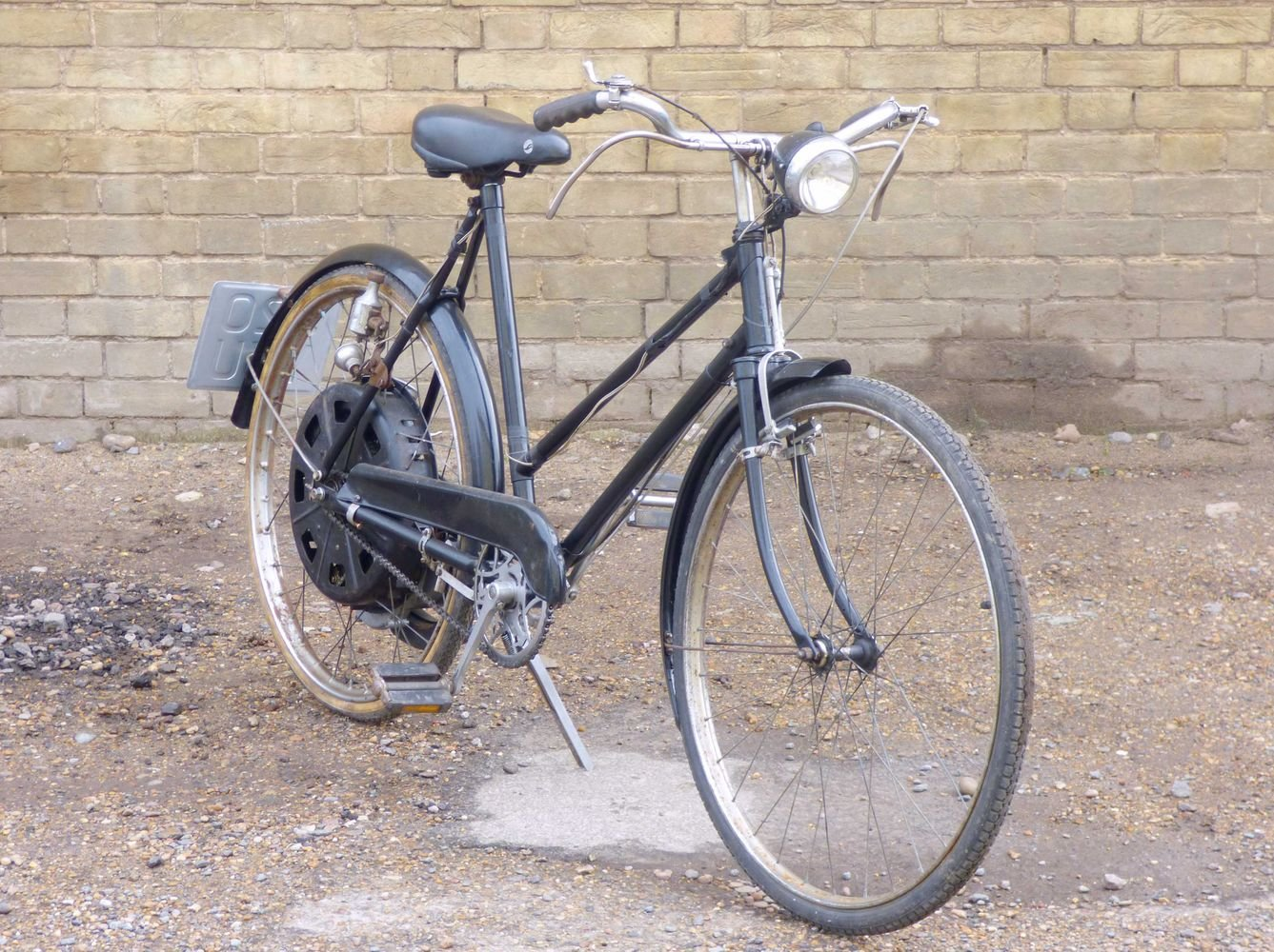1951 Cyclemaster 32cc fitted to ladies pushbike SOLD (picture 6 of 6)