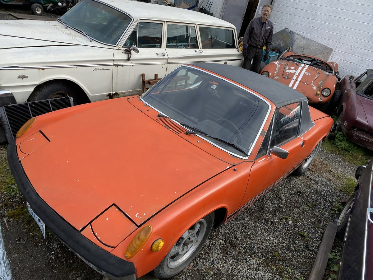 1972 Porsche 914 Dry Climate Survivor. Nice Driving 914 For Sale (picture 1 of 6)