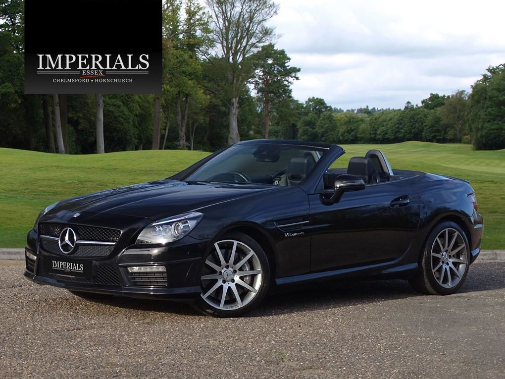 2015 Mercedes-Benz  SLK 55 AMG  CABRIOLET 7 SPEED AUTO  24,948 For Sale (picture 1 of 23)
