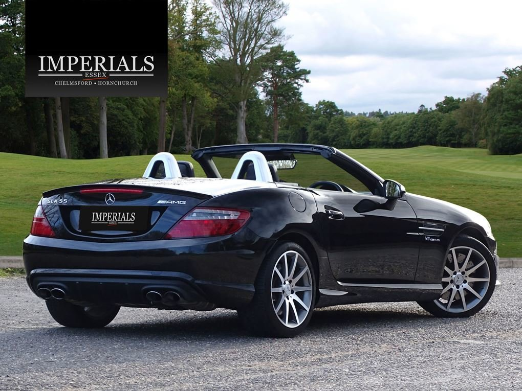 2015 Mercedes-Benz  SLK 55 AMG  CABRIOLET 7 SPEED AUTO  24,948 For Sale (picture 4 of 23)