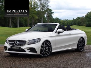 2018 Mercedes-Benz  C-CLASS  C 300 D AMG LINE PREMIUM CABRIOLET A For Sale