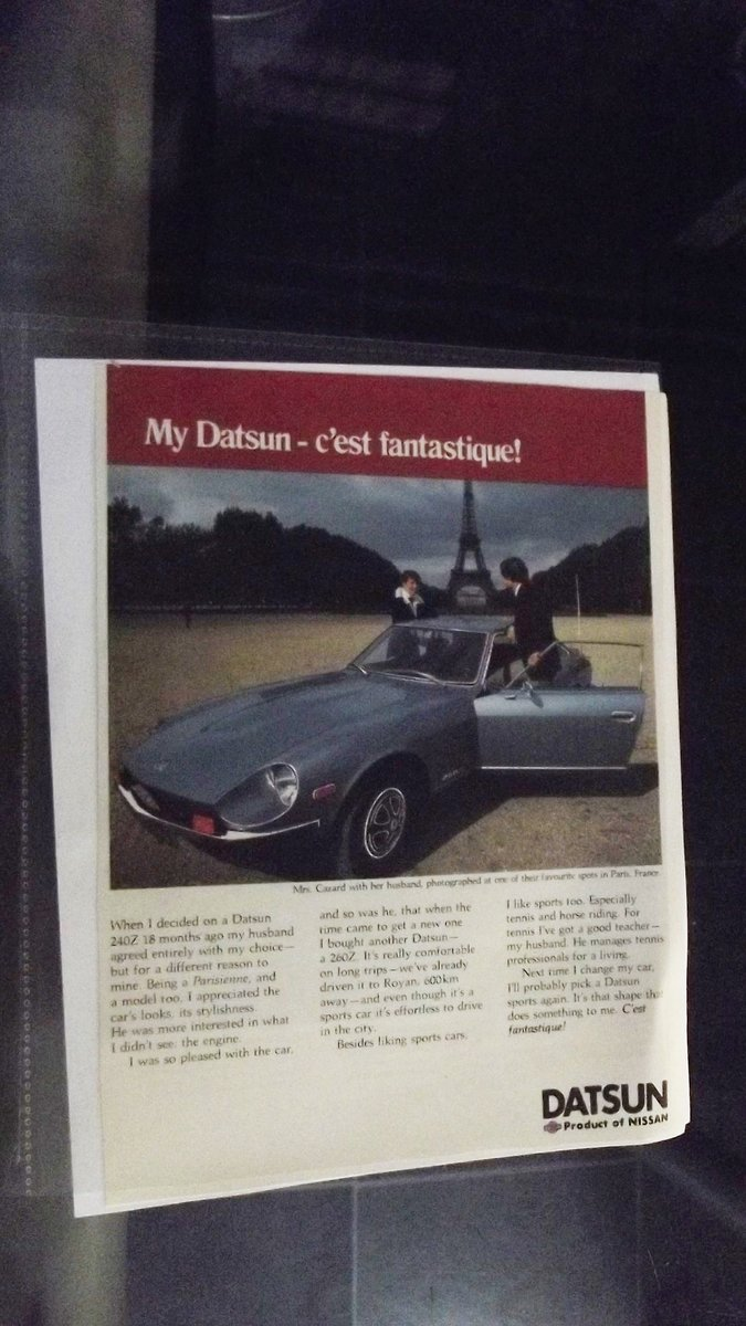 0000 NISSAN AND DATSUN MEMORABILIA FOR SALE OFFERS For Sale (picture 3 of 5)