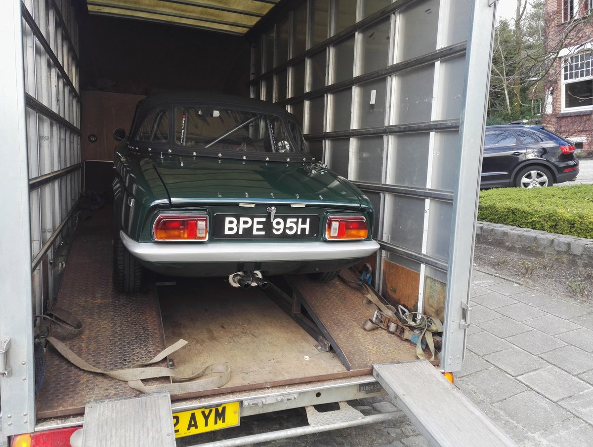 Classic car transport Uk & European  Dorset Based  (picture 4 of 4)