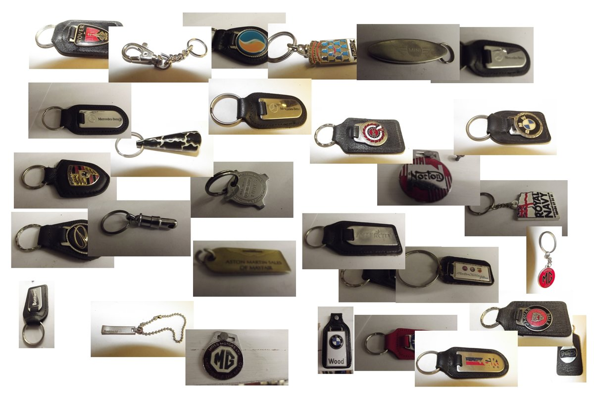 0000 KEYRINGS VARIOUS MAKES  For Sale (picture 5 of 6)