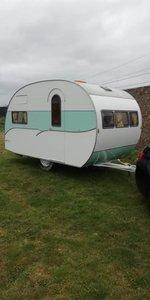 1957 CLassic Caravan, Classic Trailer, Vintage Camper SOLD