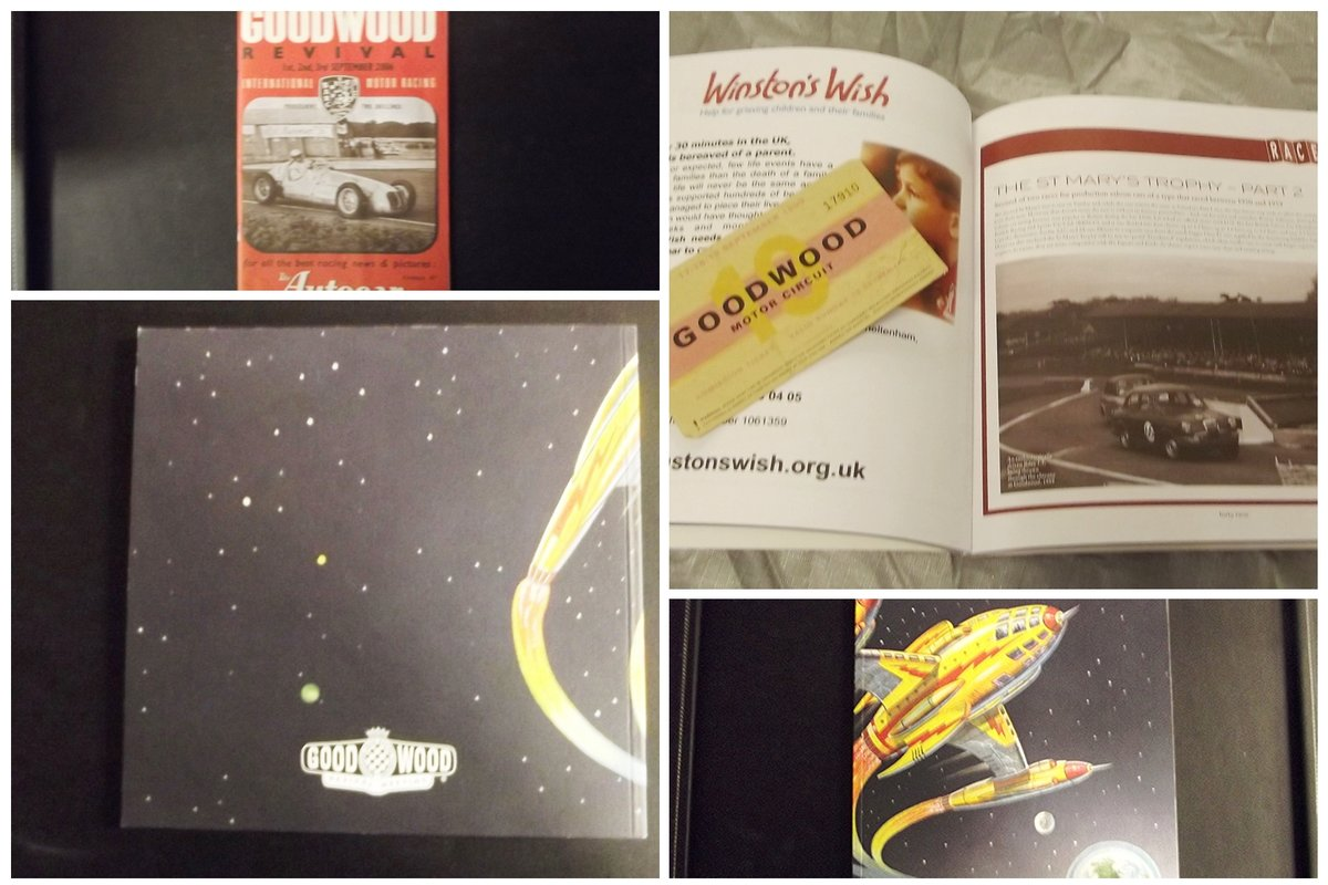 0000 GOODWOOD MEMORABILIA TICKETS AND BROCHURES For Sale (picture 1 of 6)