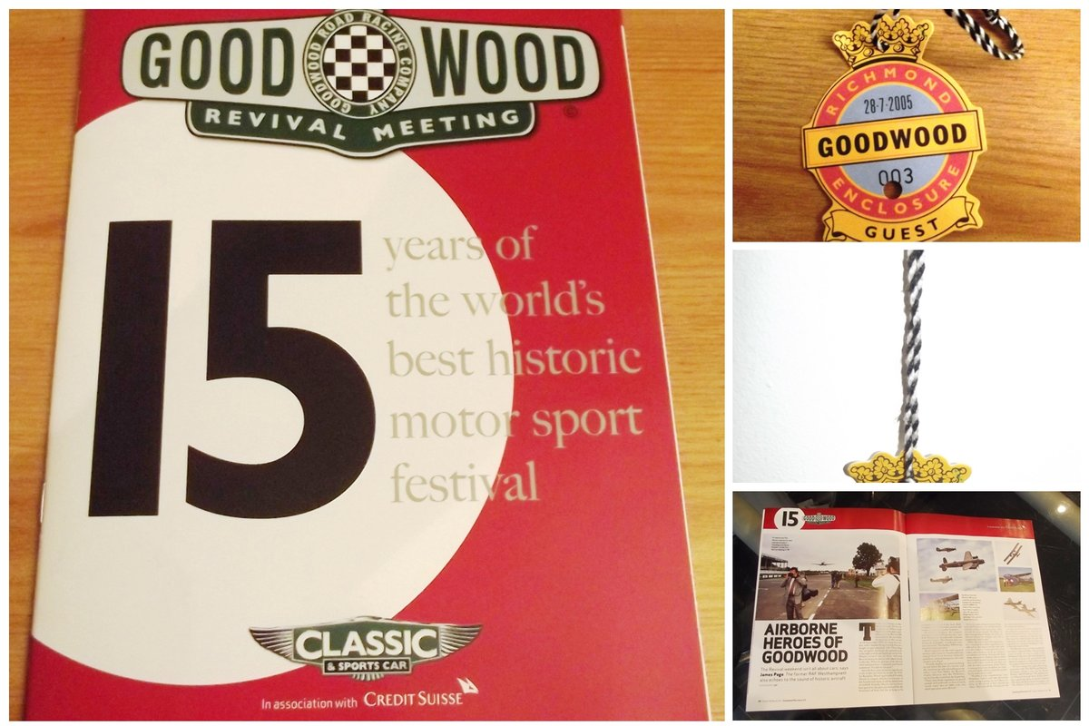 0000 GOODWOOD MEMORABILIA TICKETS AND BROCHURES For Sale (picture 2 of 6)
