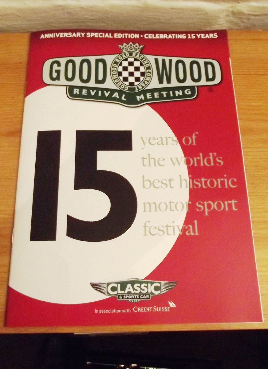 0000 GOODWOOD MEMORABILIA TICKETS AND BROCHURES For Sale (picture 6 of 6)