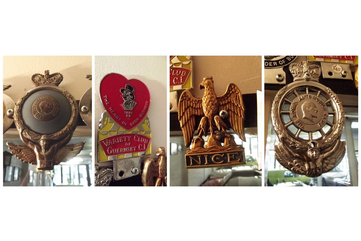 0000 CLASSIC CAR BADGES, LAPEL, TRAIN AND SOUTHAMPTON CLUB For Sale (picture 2 of 6)