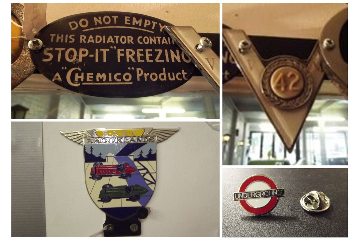 0000 CLASSIC CAR BADGES, LAPEL, TRAIN AND SOUTHAMPTON CLUB For Sale (picture 4 of 6)