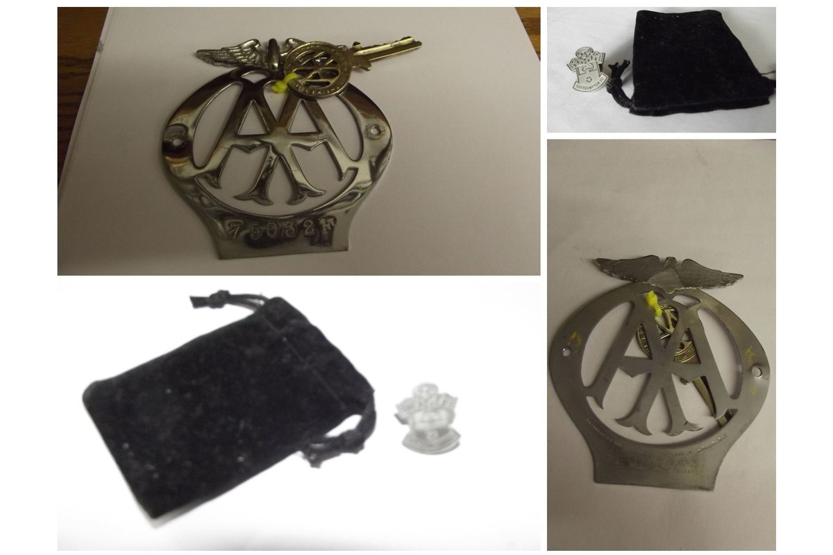 0000 CLASSIC CAR BADGES, LAPEL, TRAIN AND SOUTHAMPTON CLUB For Sale (picture 5 of 6)