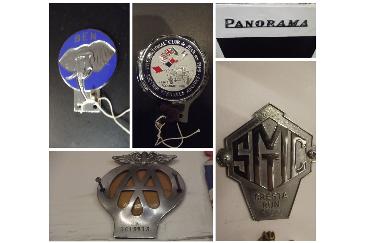 0000 CLASSIC CAR BADGES, LAPEL, TRAIN AND SOUTHAMPTON CLUB For Sale (picture 6 of 6)