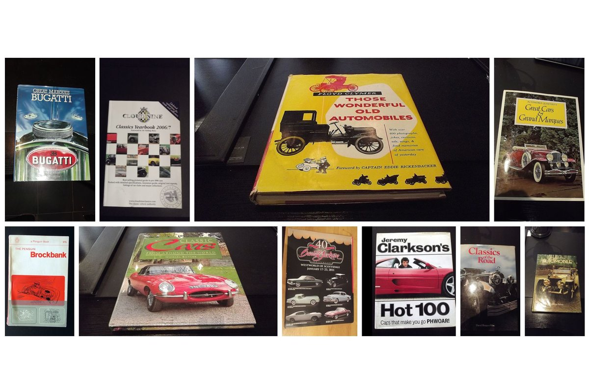 0000 BOOKS classic automobiles etc For Sale (picture 1 of 6)