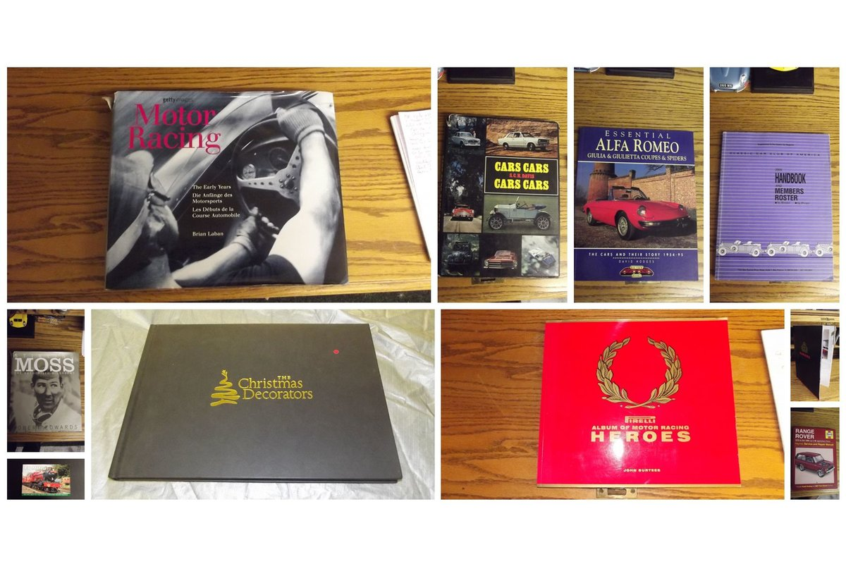 0000 BOOKS classic automobiles etc For Sale (picture 3 of 6)