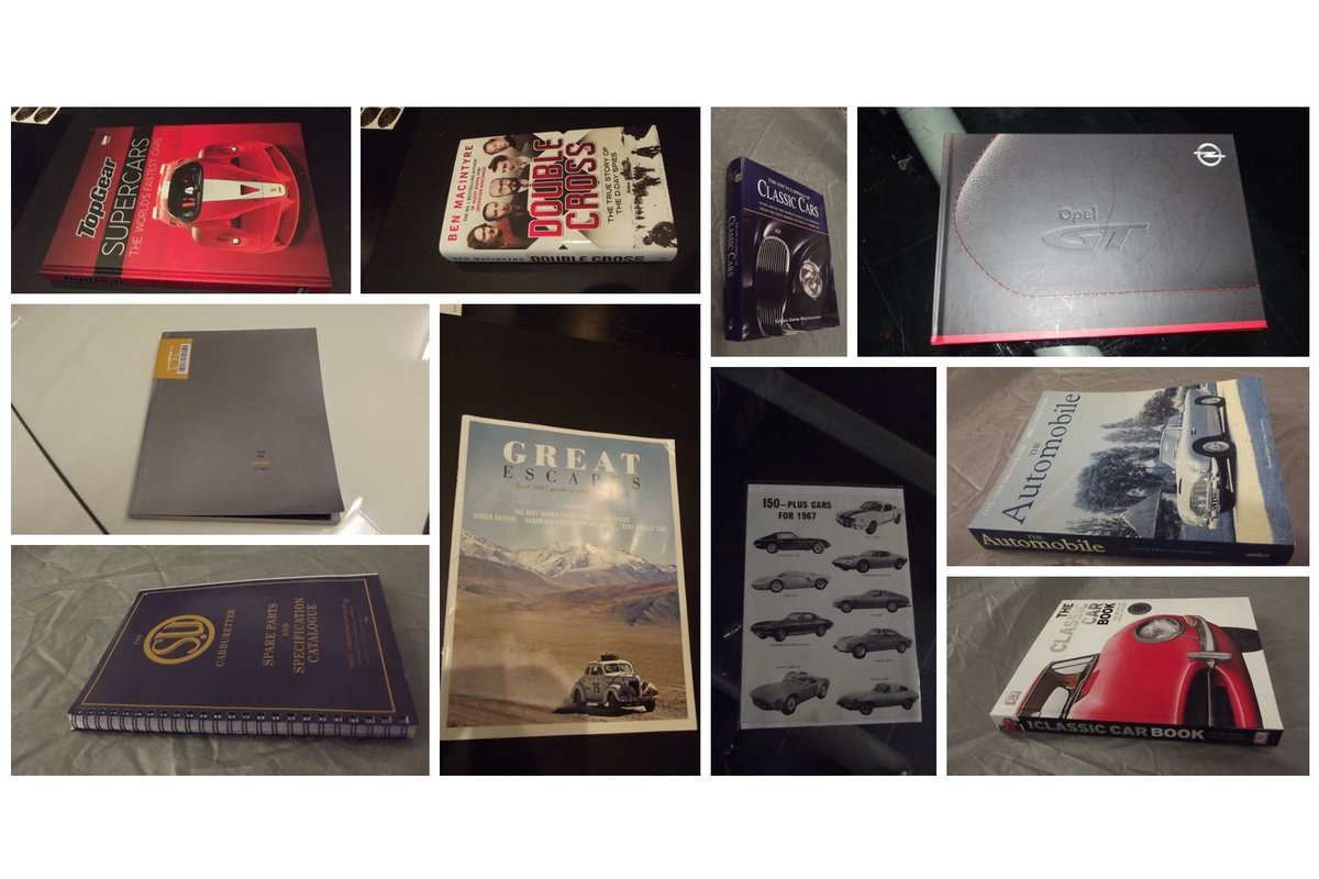 0000 BOOKS classic automobiles etc For Sale (picture 5 of 6)
