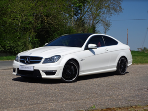 2012 Mercedes-Benz  C63 AMG  EDITION 125 COUPE 7 SPEED AUTO  20,9