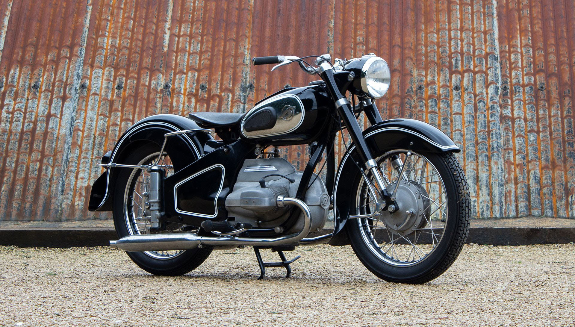 1952 Hoffmann Gouverneur 250cc - ex-Sammy Miller For Sale (picture 1 of 6)
