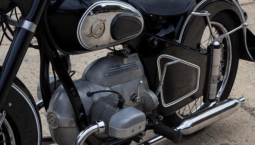 1952 Hoffmann Gouverneur 250cc - ex-Sammy Miller For Sale (picture 3 of 6)