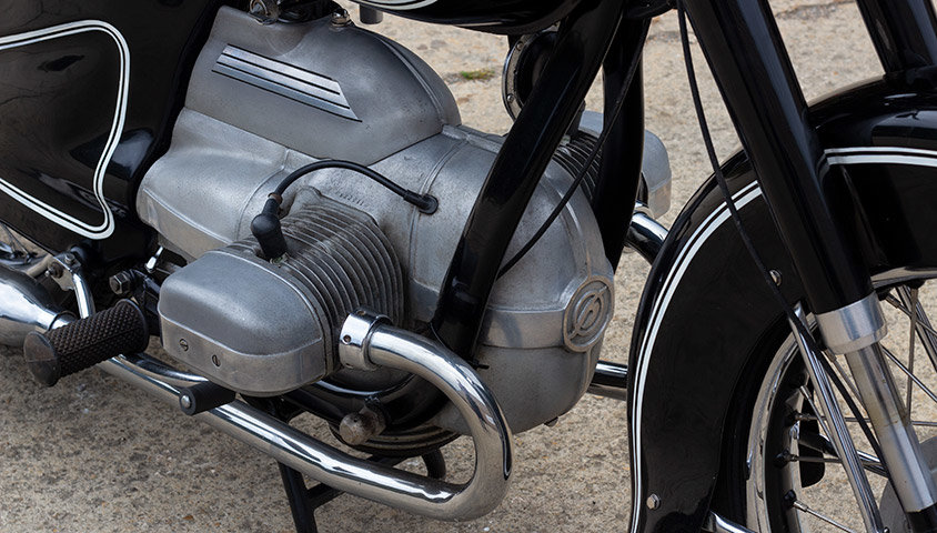 1952 Hoffmann Gouverneur 250cc - ex-Sammy Miller For Sale (picture 4 of 6)