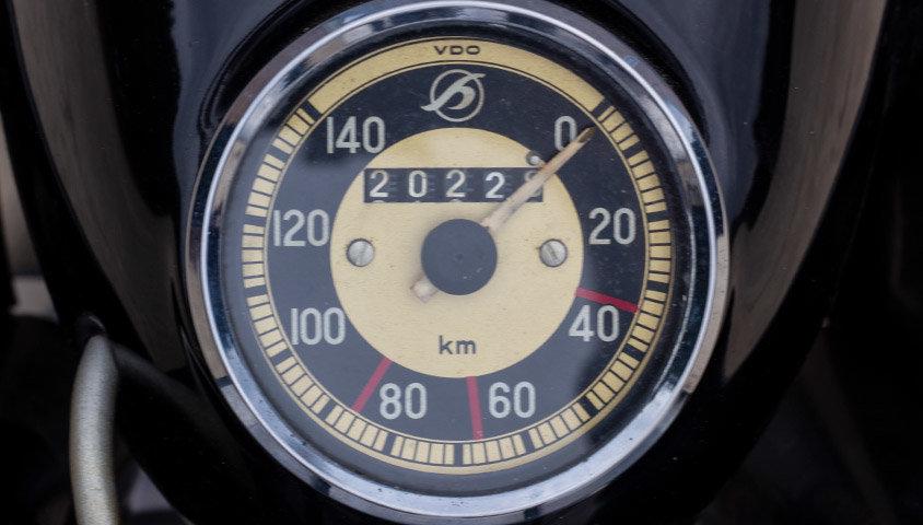 1952 Hoffmann Gouverneur 250cc - ex-Sammy Miller For Sale (picture 5 of 6)