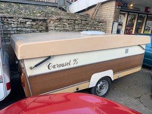 1984 Gobur Folding Caravan For Sale by Auction