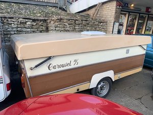 1984 Gobur Folding Caravan