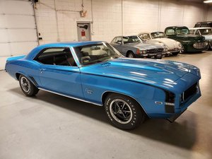 Picture of 1968 1969 Camaro Fast R/S S/S L89 396 375-HP 4 speed Blue $84.7k  For Sale