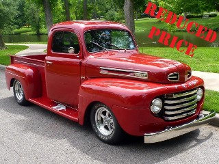 Picture of 1948 Ford F1 Pickup Truck Custom Show 350 + 5 speed  $125k For Sale