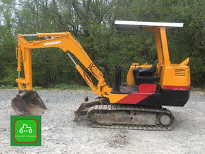 1995 YANMAR 2.5 TON ALL WORKING TOWABLE MINI DIGGER SEE VIDEO SOLD