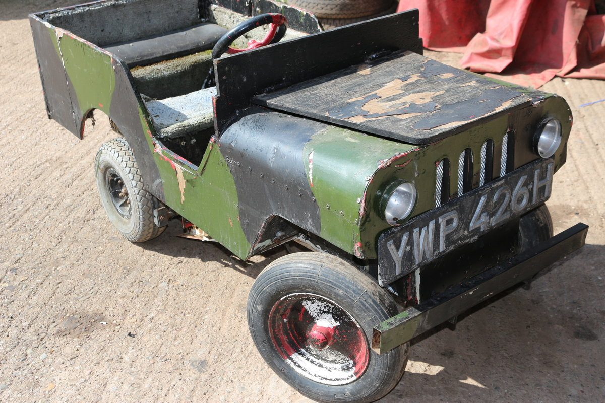 1990 Kids Landrover jeep not Toylandrover electric  For Sale (picture 2 of 4)