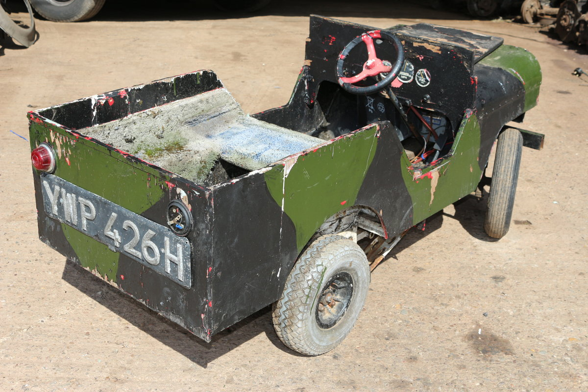 1990 Kids Landrover jeep not Toylandrover electric  For Sale (picture 3 of 4)