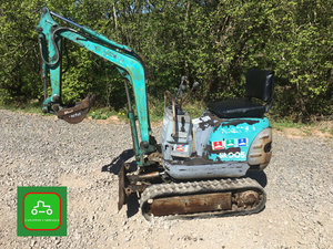 1997 KOBLECO 1/2 TON MICRO DIGGER EXPANING TRACKS SEE VIDEO  SOLD