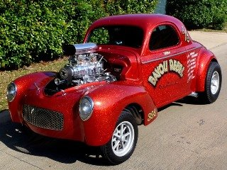1941 Willys Coupe Custom Fast 392 Hemi + Blower  $67.5k For Sale