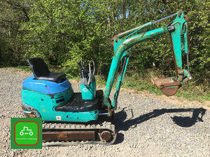 1998 KOMATSU 3/4 TON MICRO DIGGER ALL WORKS SEE VID CAN DELIVER SOLD